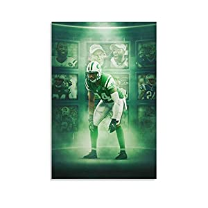 Physical Education Darrelle Revis New York Jets American Football Posterr Canvas Art Poster and Wall Art Picture Print Modern Family Bedroom Decor Posters 16x24inch(40x60cm)