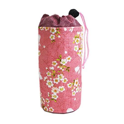 ペットボトル カバー ホルダー ケース 和柄 桜うさぎピンク 日本製 女性用