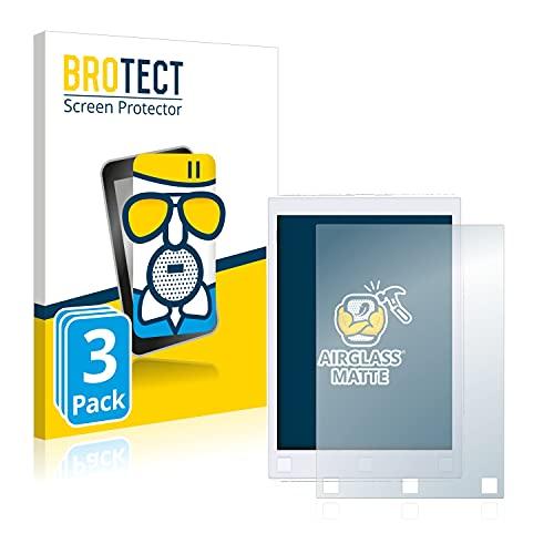 BROTECT Protector Pantalla Cristal Mate Compatible con Remarkable 1 Protector Pantalla Anti-Reflejos Vidrio, AirGlass (3 Unidades)