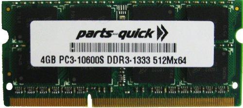 4GB RAM Upgrade for Dell Latitude E4200 DDR3 PC3-10600 SODIMM Memory (PARTS-QUICK Brand)
