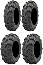 Full set of ITP Mud Lite XL 27x9-12 and 27x12-12 ATV Tires (4)