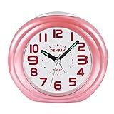 Sveglia,Sveglia Da Viaggio,Allarme Sul Comodino Senza Ticchettio, Silenziamento Sveglia Ba...