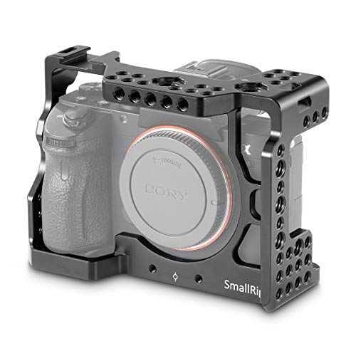 SMALLRIG Soporte de Monitor Giratorio e Inclinable con Adaptador de Cold Shoe BSE2346