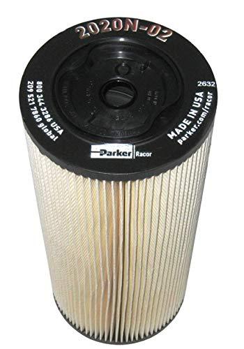 2020N-02 Parker Racor Fuel Filter Element (Pack of 2)