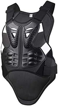 Motorcycle Armor Vest Chest Back Spine Protector Touring Motocross Off-Road Racing Cycling Body Guard (L)