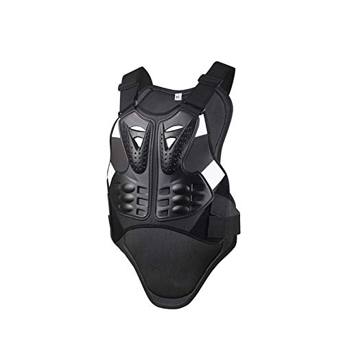 Motoker Motorcycle Armor Vest Chest Back Spine Protector Touring Motocross Off-Road Racing Cycling Body Guard (XL)