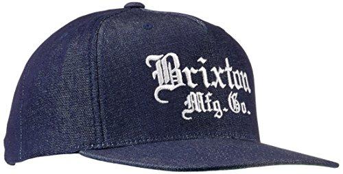 BRIXTON – Chapeau Vincent Taille Unique Blu (Denim)