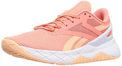 Reebok Damen Nanoflex TR Cross Trainer, Twisted Coral/Aura Orange/Footwear White, 38.5 EU