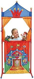 Toys Theatre de marionnettes Enfant 68x159cm - Plastique / Tissu - Decor Cirque - marionnettes Non incluses - Jouet Imagin...