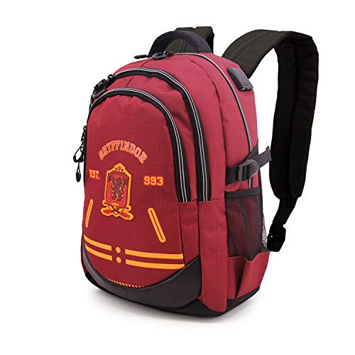 KARACTERMANIA Harry Potter Varsity-Zaino Running HS 1.2, Multicolore