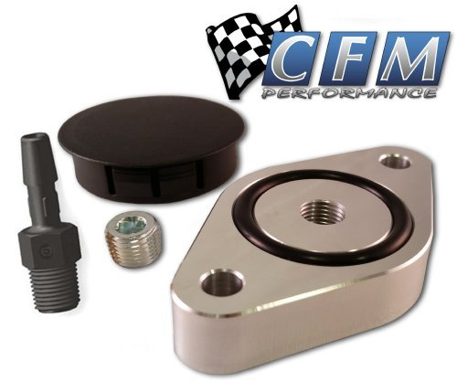 CFM Performance 4-0300 Symposer Delete with Pressure Port for 2013-2018 Ford Focus ST ST250