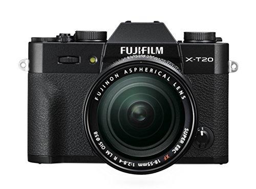 FUJIFILM ミラーレス一眼カメラ X-T20 レンズキットブラック X-T20LK-B