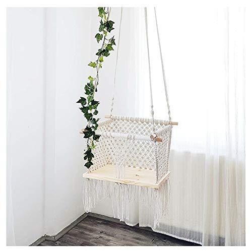 ZXLIFE@@ Garden Tree Swing Seat, Kinderschommel, Binnenschommel, Babyschommel, Hangende schommelstoel met hoge belastbaarheid, Opvouwbare schommel met verstelbare hoogte