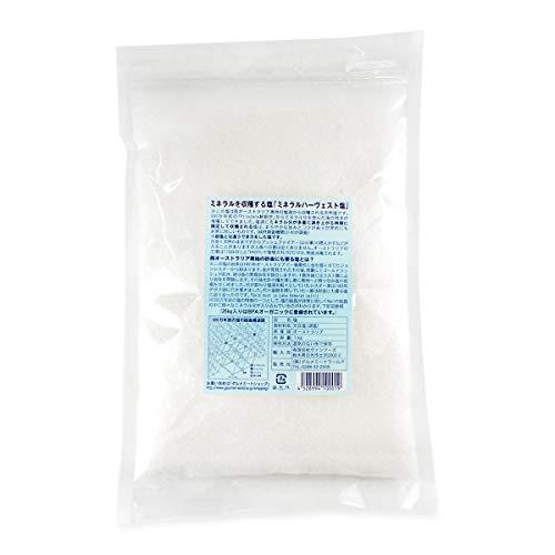 グルメソムリエ 塩 天然 ミネラルハーヴェスト 湖塩 オーストラリア フロッシー 粗塩 (1kg)