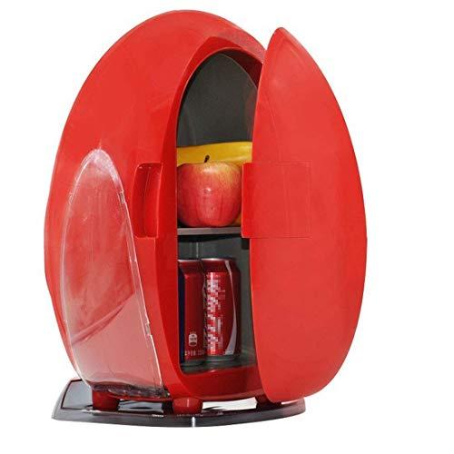 RTYUI Mini Nevera De 10 L, Funcionamiento Silencioso De Doble Entrada De 12 V / 240 V, Compacto Y Portátil, Comida Caliente para El Hogar, La Oficina, El Coche O El Barco
