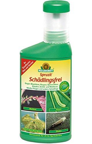 Neudorff Spruzit Schädlingsfrei saugende beißende Insekten 250 ml Flasche 5,98 EUR/ 100 ml