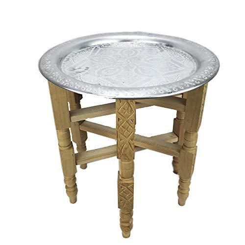 Tavolino marocchino con vassoio
