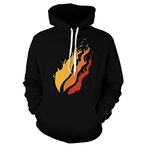 Clothing, Shoes & Jewelry Hoodies DSGDG 3D Printed Preston Fire ...