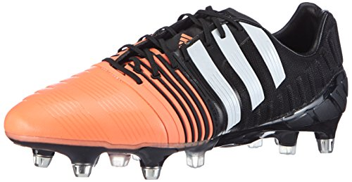 adidas Nitrocharge 1.0 SG Mens Soccer Boots/Cleats-Black-9