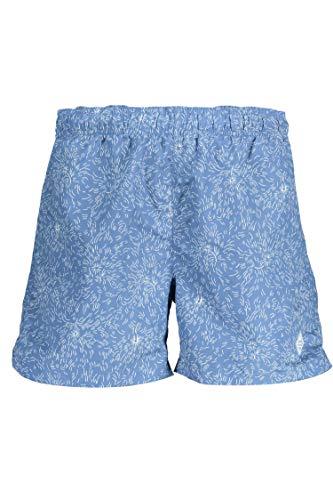 GANT Herren Dandelion Swim Shorts C.F Badehose, Blau (Poseidon Blue 448), Large (Herstellergröße: L)