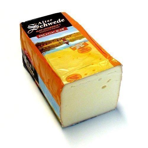 Alter Schwede kräftiger pikanter Käse aus Mecklenburg mit Rotschmiere 500g inklusive Kühlversand in Styroporbox mit Kühlakku