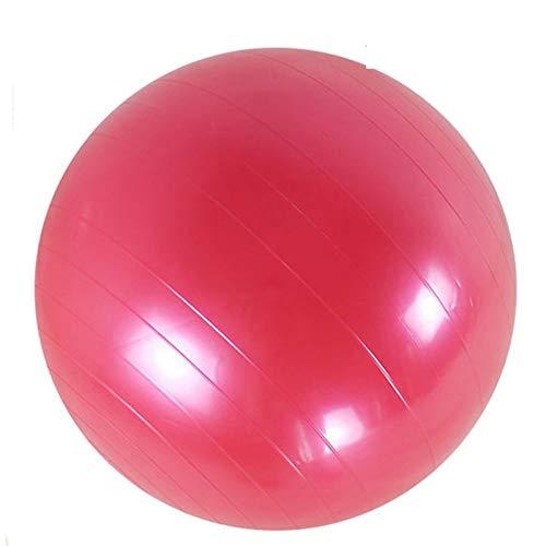 WZCXYX Deportes Pelotas De Yoga Pilates Gimnasio Gimnasio Ejercicio Ejercicio Pilates Entrenamiento Bola De Masaje 45 Cm 55 Cm 65 Cm 75cm(Size:55cm,Color:Rojo)