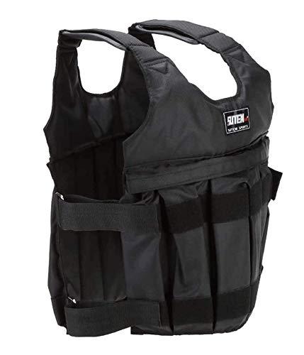 Chaleco de entrenamiento de fuerza, chaleco de entrenamiento de fuerza, chaleco de entrenamiento de fuerza con bolsillos acolchados, entrenamiento de fuerza de gimnasio, chaleco de peso tra(Size:20kg)