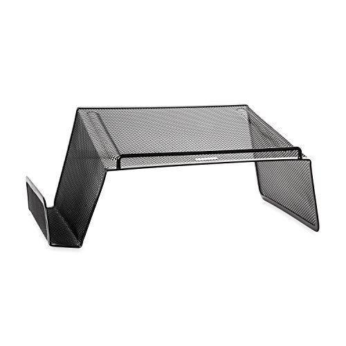 Rolodex Mesh Collection Desktop Phone Stand, Black (22151)
