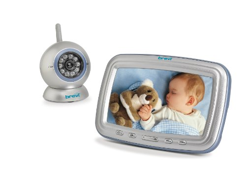 "Brevi 393 Baby Monitor Angelino 7"" con Video Baby Monitor 2.4 GHz"