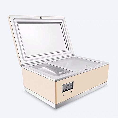 CC-3L Refrigerador cosmético 3L Cosméticos Reefer Congelador portátil para cosméticos Refrigerador de Coche Vertical Mini Nevera Caja AC220V 8-18C