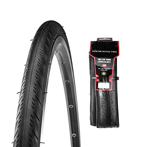 hclshops Road Bike Tire 700X23C / 25C Folding Tyre Bicycle Road Bike Tire Anti Puncture Cycling Tyre (Size : 700C X 25C)