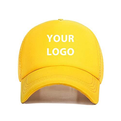 DGFB Nueva Malla UnisexSombrero Logotipo Personalizado Transpirable Gorra De Béisbol 5 Unids/Lote Personalidad Al por Mayor Hombres Mujeres Chapeau