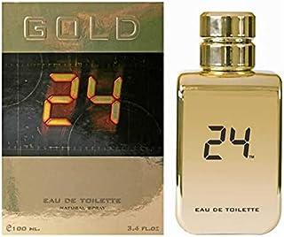 24 Gold Eau de Toilette 100ml+24ml Pocket Spray