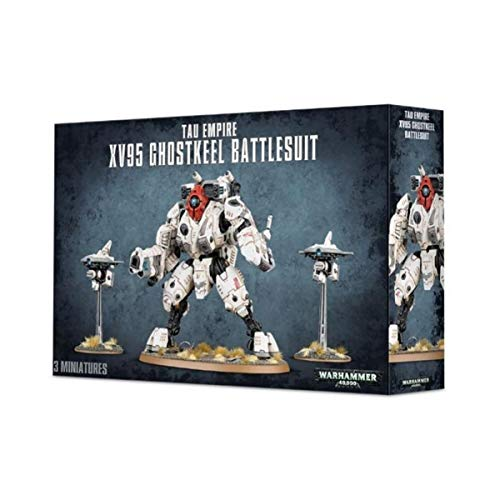 Games Workshop 99120113059 Tau xv95 ghostkeel Battlesuit Plastic Kit