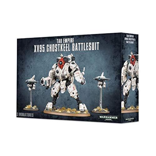 Games Workshop 99120113059Tau xv95ghostkeel Battlesuit Plastic Kit