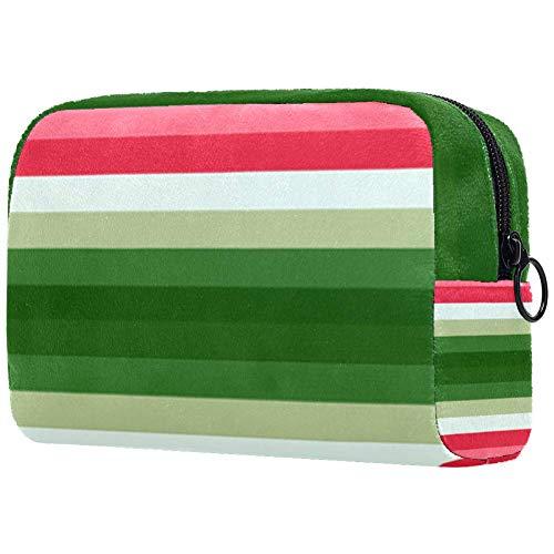 Personalisierbare Make-up-Pinsel-Tasche, tragbare Kulturtasche für Frauen, Handtasche, Kosmetik, Reise-Organizer, Wandfarbe, Test
