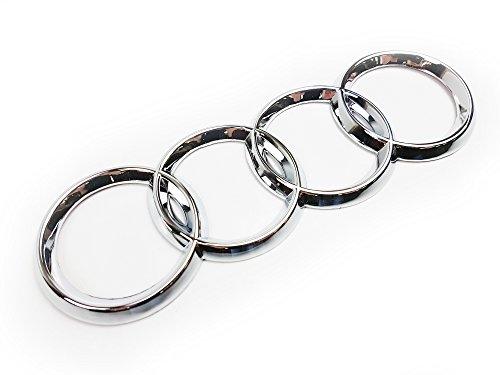 Trasera para portón trasero cromado anillos insignia emblema 4e0853742