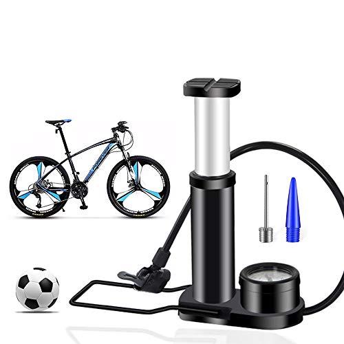 Bostar Mini Bomba de Bicicleta,Bomba de Aire de pie con Man�