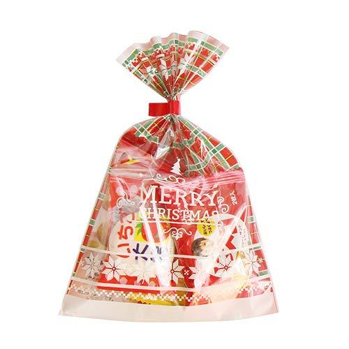 クリスマス袋 110円 お菓子 詰め合わせ(Aセット) 駄菓子 袋詰め おかしのマーチ