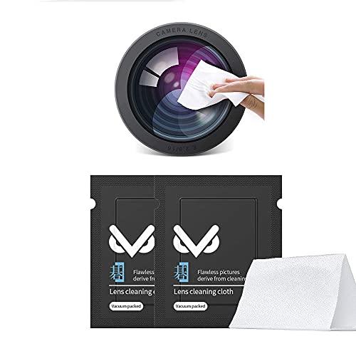 VSGO カメラクリーニング用品 レンズクロス 10cm×10cm×20pcs V-CL01
