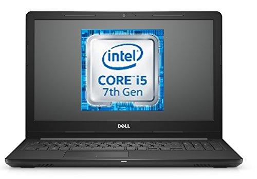 Dell Inspiron 3000 15.6-inch HD Laptop (Intel Core i5-7200U, 8 GB RAM, 1 TB HDD, Windows 10 Home) - Matte Black