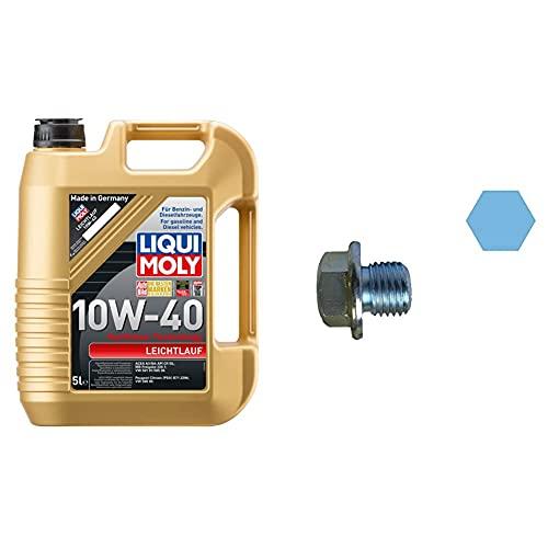 LIQUI MOLY 1310 Leichtlauf 10W-40 5 l & Corteco 220154S Bloque de Motor