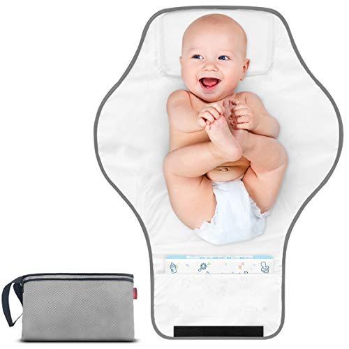 profesional ranking MORROLS cambiador de pañales portátil, cambiador de pañales impermeable, ligero y duradero para bebés … elección
