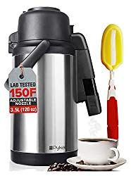 cheap Drip-Proof Coffee Carafe Dispenser-With Adjustable Nozzle | Capacity 120 oz | Laboratory…
