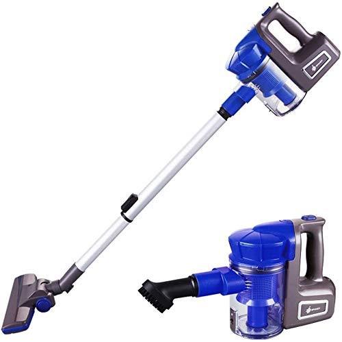 LTLJX Household Vacuum Cleaner/Wired Vacuum Cleaner, 700W High Power, Aluminum Alloy Telescopic Tube, 5m Power Cord, 1L Capacity, Ergonomic Handle, Complete Accessories (Blue) LUDEQUAN