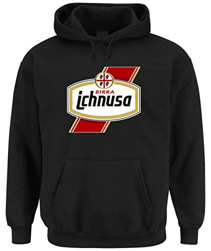 Certified Freak Ichnusa Birra Hooded-Sweater Black L