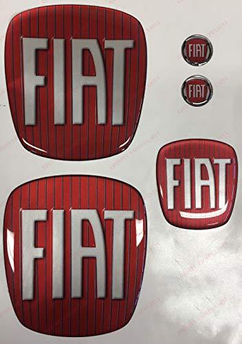 Freemont Logo vorne, hinten + Lenkrad + 2 Embleme für Schlüsselanhänger, Motorhaube und Kofferraum, Harz,...