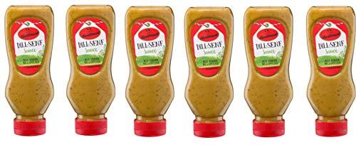 Dill-Senf Sauce von Händlmaier 6 x 225ml Squeeze im Bundle