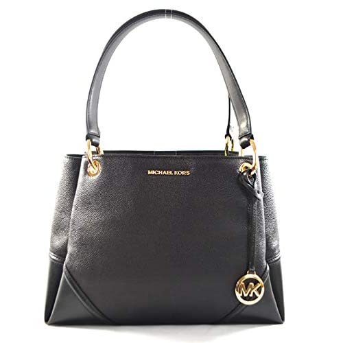 Michael Kors Women's Nicole Large Shoulder Bag Tote Purse Handbag