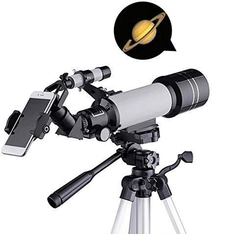 HZWLF Gift National Geographic Astronomical Telescope,HD Monoculars,Portable 70MM Refractor for Beginners and Children,Smart Phone Adapter with Adjustable Tripod Moon Filter Finder and Carrying Bag